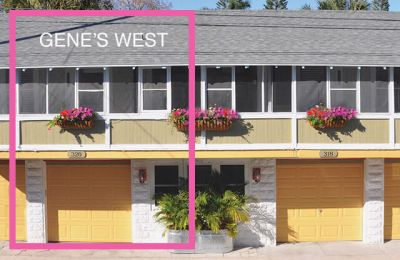 Gene's Carriage House, West Summer Rental